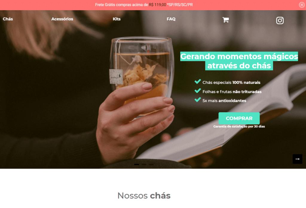 E-commerce Evah no Shopify