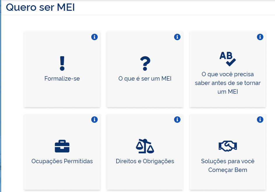 portal gov MEI