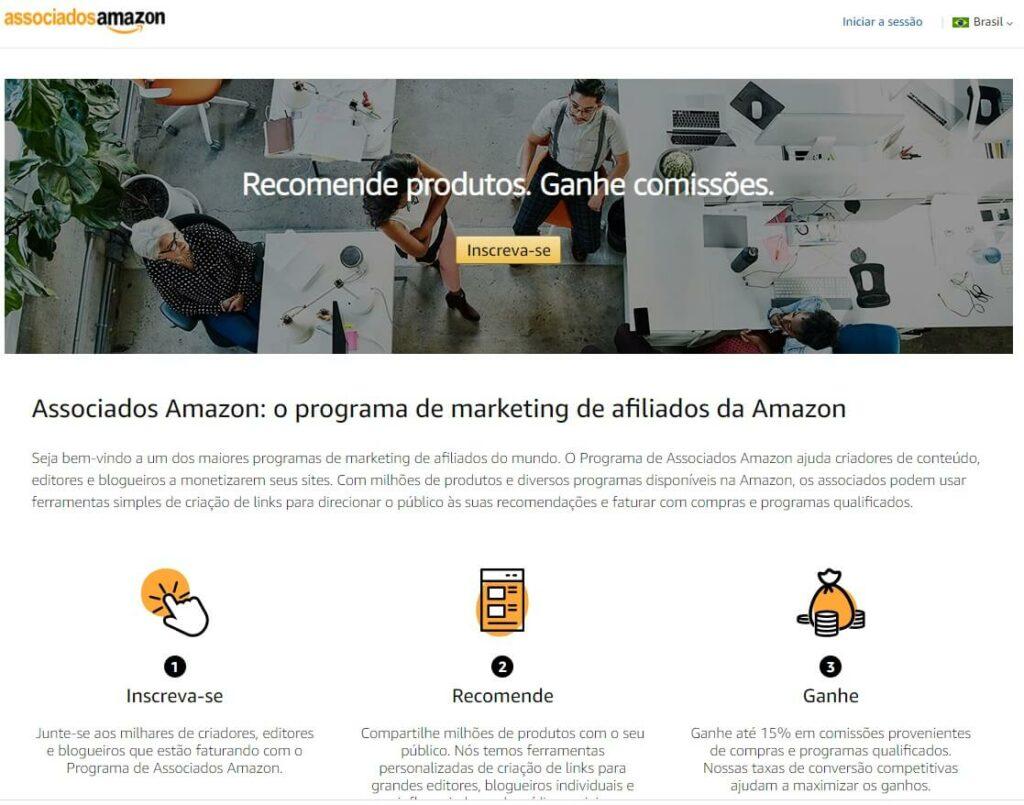Programa de Afiliados da Amazon | O que é um blog