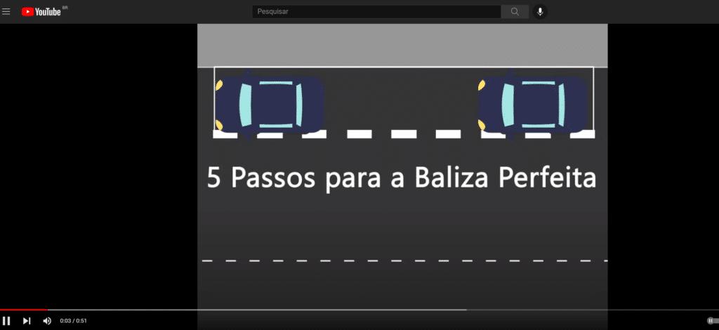 vídeo sobre como fazer a baliza.
