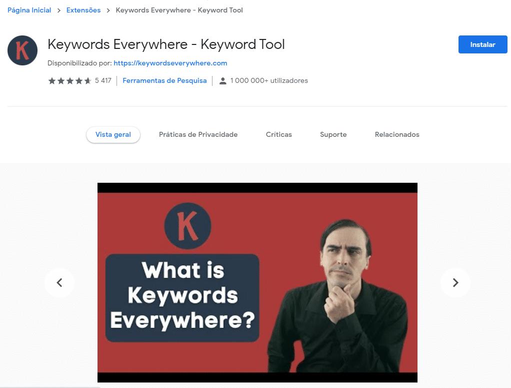 Keywords Everywhere | 10 estratégias de SEO