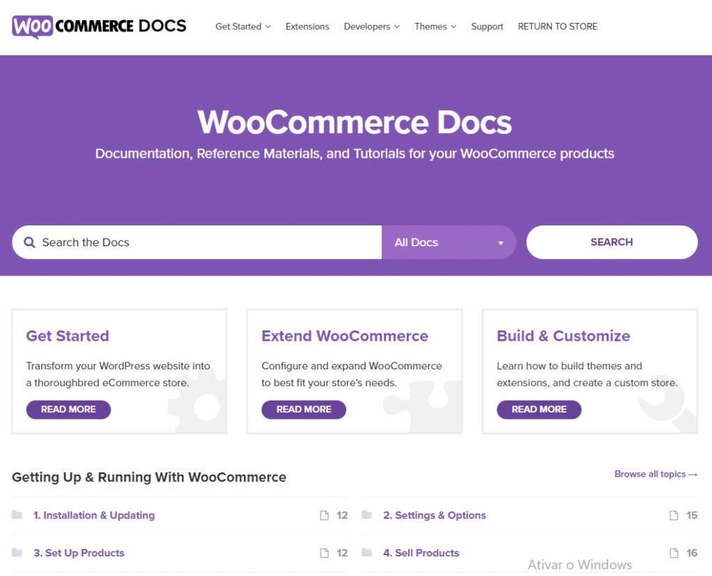 Documentação Woocomerce   Shopify ou WooCommerce?