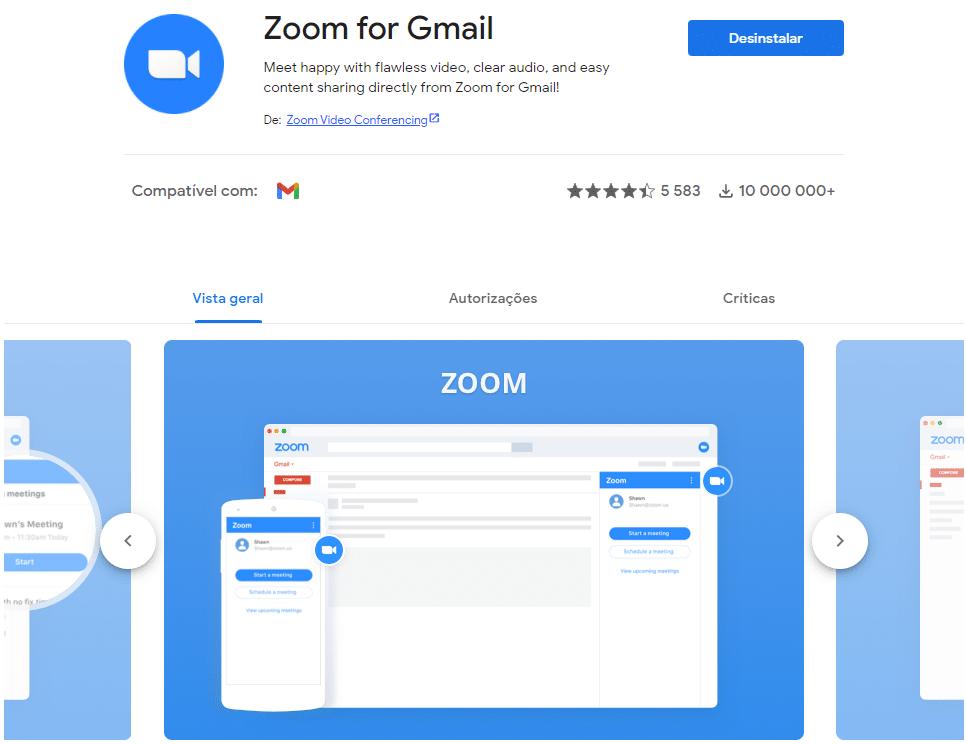 Zoom + Gmail   5 melhores extensões do Gmail