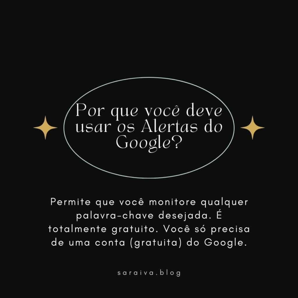 Por que você deve usar os Alertas do Google?